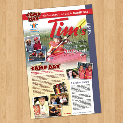 Tim's Times Newsletter design