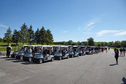 Event photography, graphic design and print at Tim Horton Children's Foundation Golf Tournament