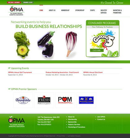 Website Redesign for OPMA