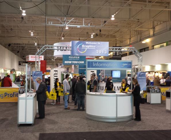 Graphics Canada trade show printing convention
