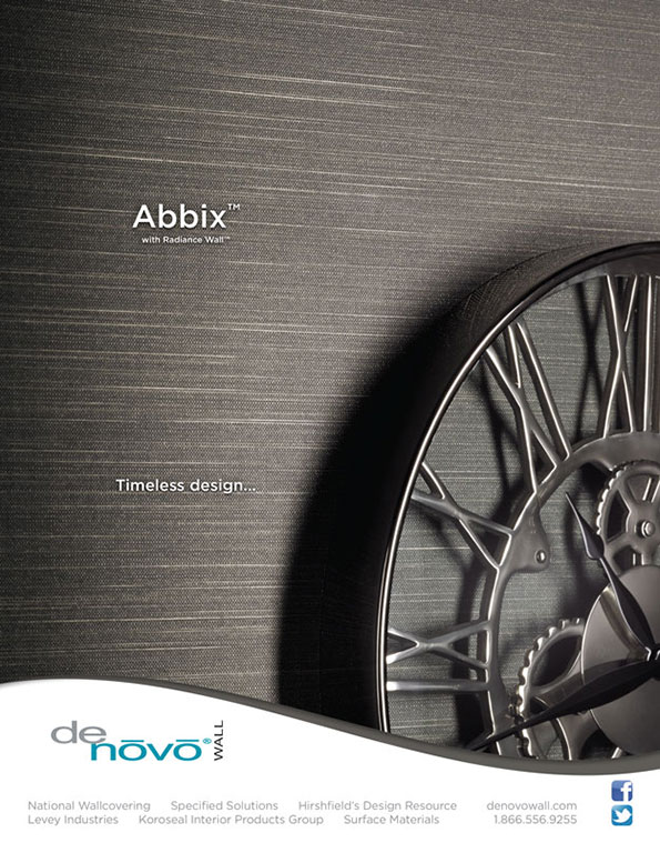 Advertisement Design Denovo Wall 39 S Abbix Bcreative