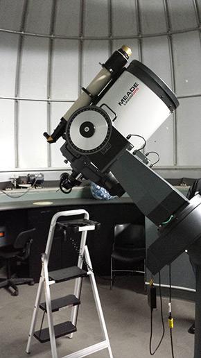 THCF Onondaga Farms Ronald V. Joyce Observatory 16 inch aperture lens telescope