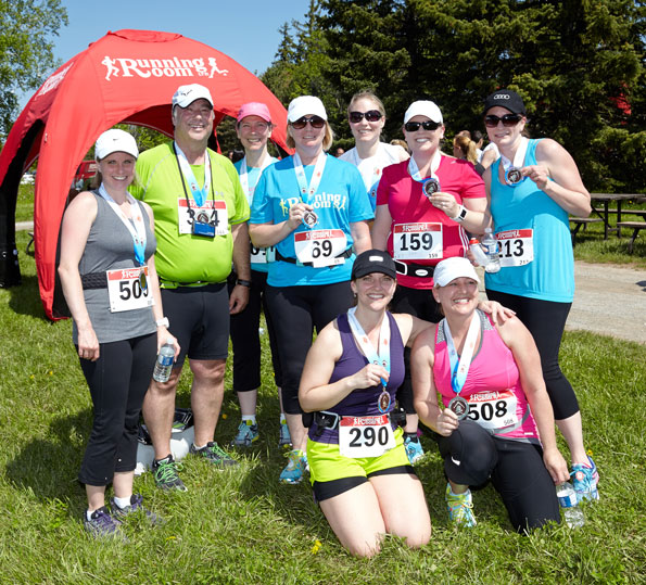 Event photographer THCF Run and Walk May 2014 Participant Group Bronte Creek, Oakville