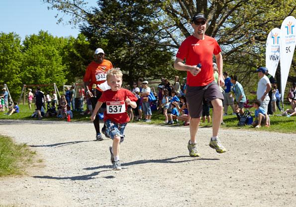 Event photographer THCF Run and Walk participants Bronte Creek Park Oakville 2014
