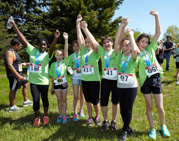 Event photographer THCF Runners Walkers for the Camps May 2014 girl running team