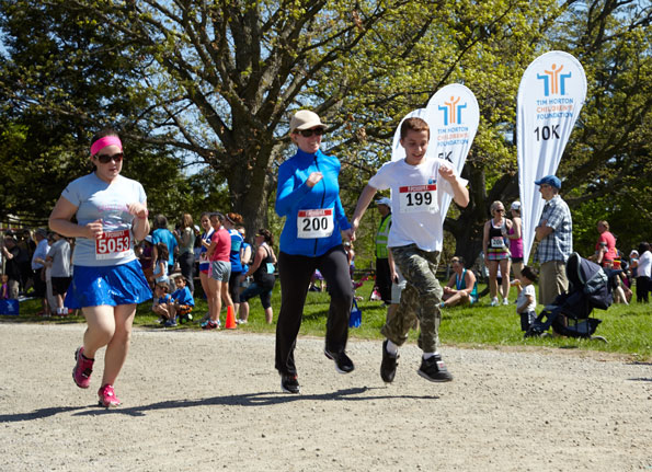Event photographer THCF running participants Bronte Creek Provincial Park 2014