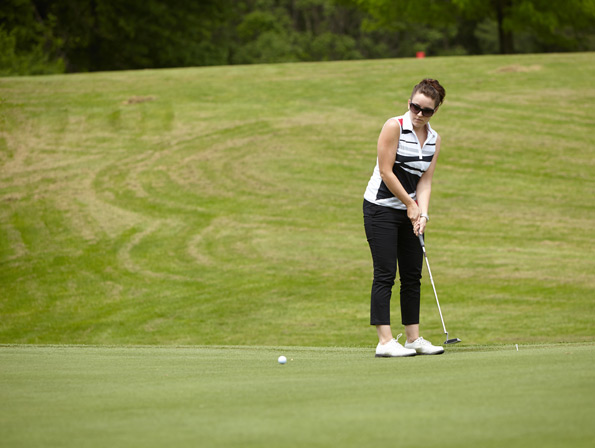 Event Photography Tim Horton Children's Foundation 38th Golf Invitational lady putting