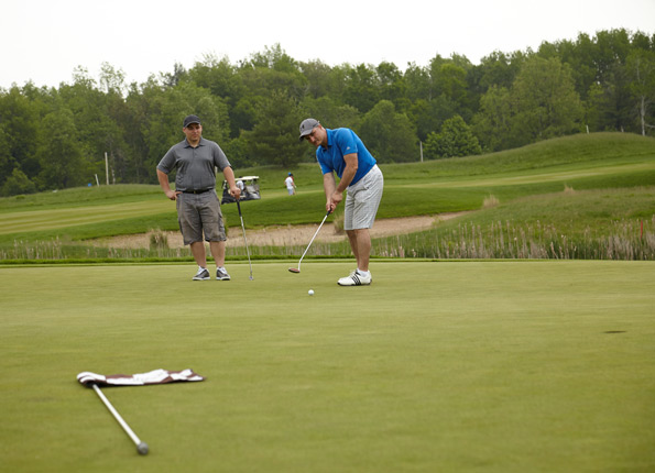 Event Photography Tim Horton Children's Foundation 38th Tournament putting from the green