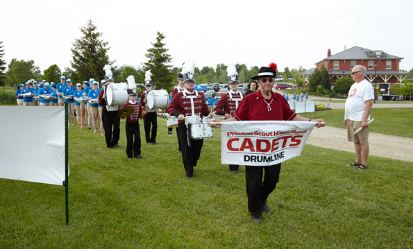 Event Photography Preston Scout House Band Cadets Drumline THCF 38th Golf Tournament Onondaga Farms dinner