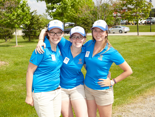 Event photography THCF 38th Golf Tournament counselors Onondaga Farms dinner welcoming guests