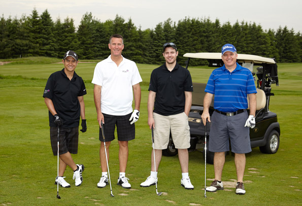 Event Photography THCF 38th Golf Invitational Tournament golfers group photography