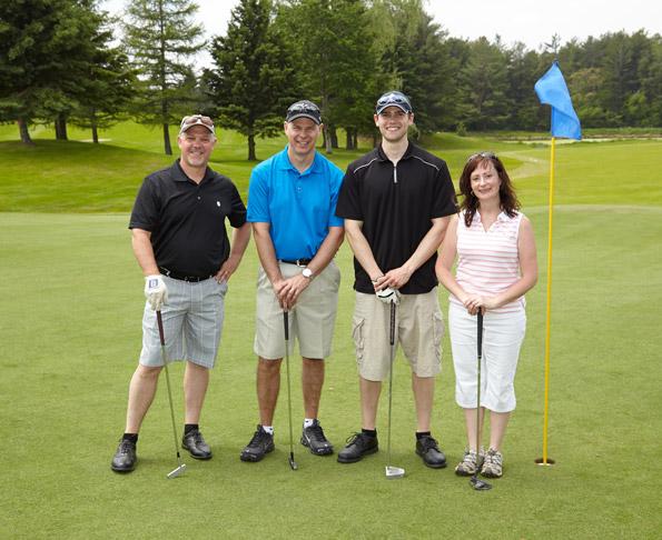 Bcreative at Tim Horton Children's Foundation 38th Invitational Golf Tournament on the green