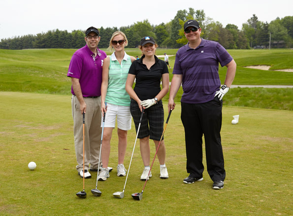 Event Photography Tim Horton Children's Foundation 38th Golf Tournament golfers tee off group photograph