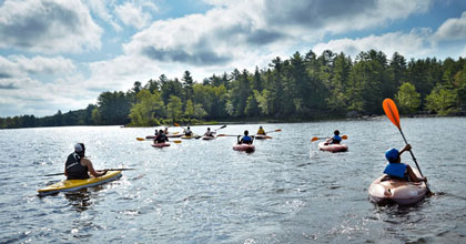 Camp photography Camp des Voyageurs Tim Horton Quebec