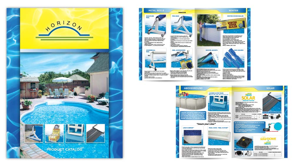 Product catalogue booklet design