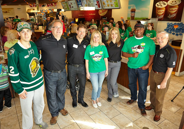 Weather Network at Tim Hortons Camp Day