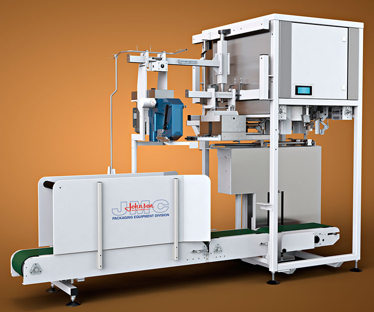3D rendering imagery of packaging machine equipment for JMC